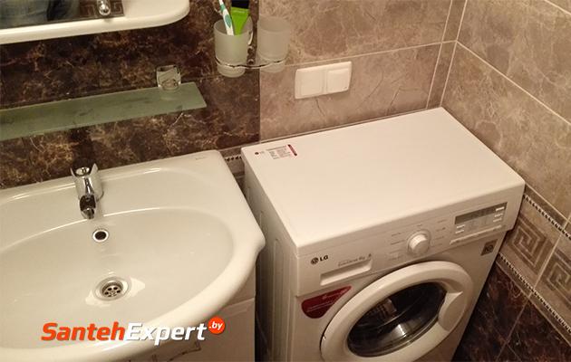 Отзыв на ремонт ванной комнаты и туалета под ключ в Минске, Горецкого, 43