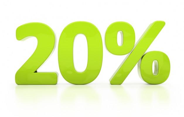 Скидка 20% на все работы под ключ