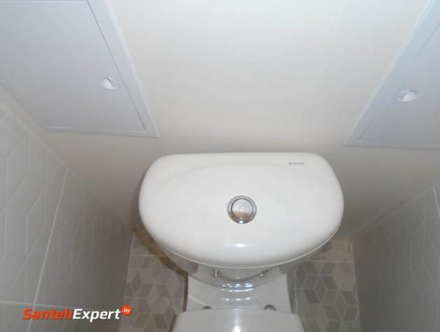 Ремонт ванны и туалета под ключ в Минске, ул. Шугаева