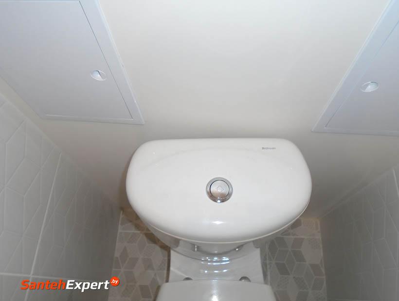 Отремонтировать туалет в новостройке. Ремонт туалета в новой квартире, Минск.