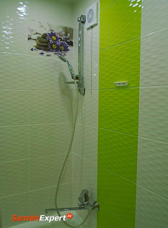 Ремонт ванной комнаты и санузла в типовой хрущевке в Минске