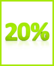 Скидка 20% на ремонт ванной и туалета под ключ