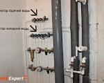 Монтаж системы труб водопровода в Минске
