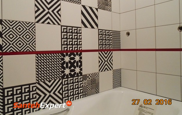 Ванна и туалет под ключ, ул. Городецкая, Минск
