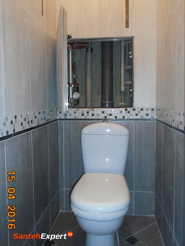 Услуги ремонта ванной комнаты и санузла под ключ, ул. Каменогорская, Минск