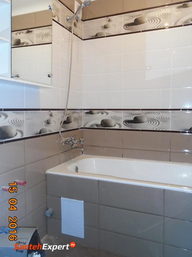 Ванна и туалет под ключ, ул. Каменогорская, Минск