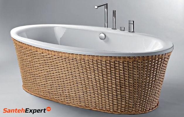 круговая элитная ванна Louise