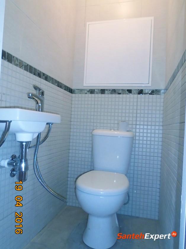 Ремонт ванной комнаты и санузла под ключ в Боровлянах