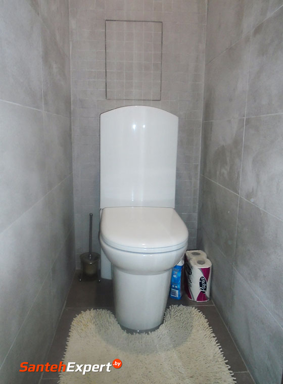 Туалет и ванная комната под ключ по низким ценам, Рокоссовского