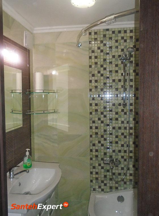 Ремонт ванной и туалета под ключ, Мирошниченко 37