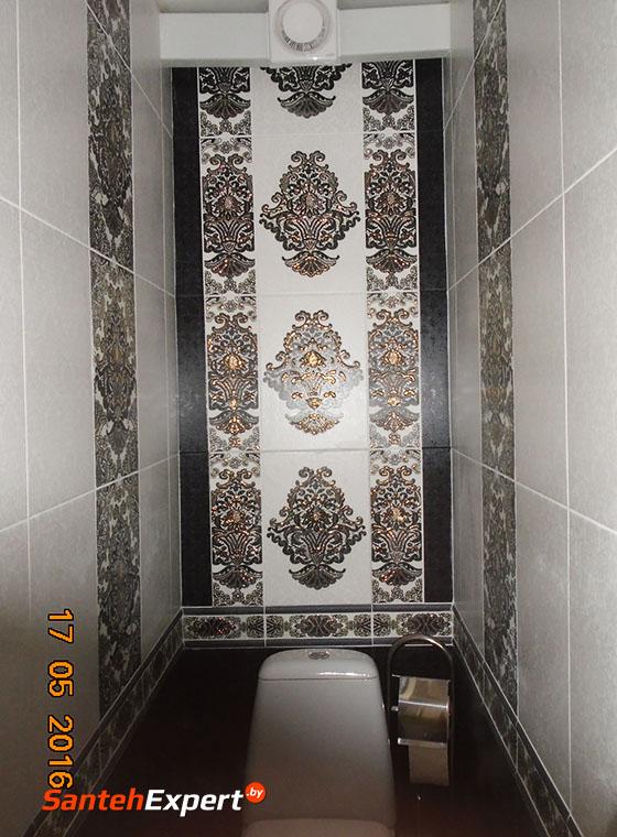 Санузел и ванная комната под ключ в Минске на Рафиева 86